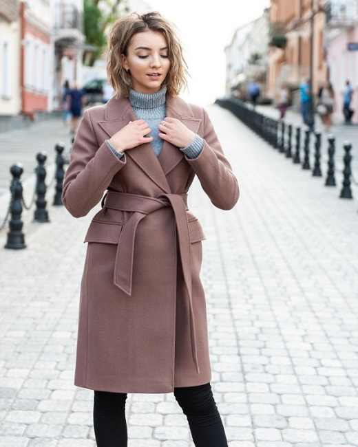 Классическое пальто на осень
